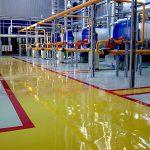 Изготовление наливных полов для производственных помещений