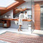 Выбор и установка теплого пола в ванной комнате