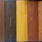Возможные цвета пропитки для дерева