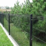 Забор из сварной сетки
