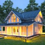Каркасные дома — новаторство 2020 года