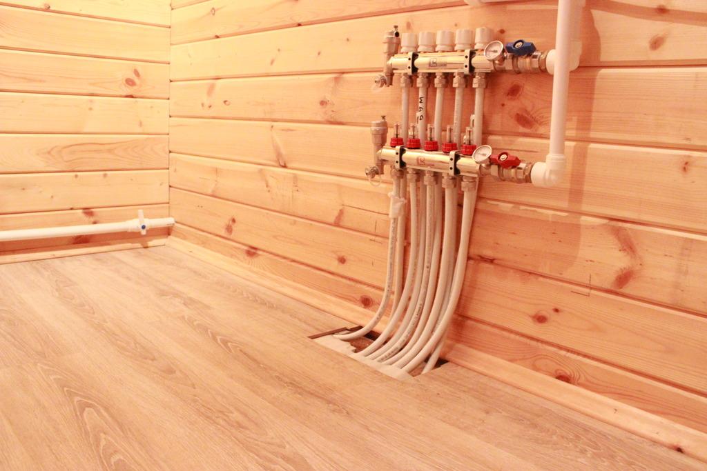 Как сделать теплые полы в доме на деревянные полы