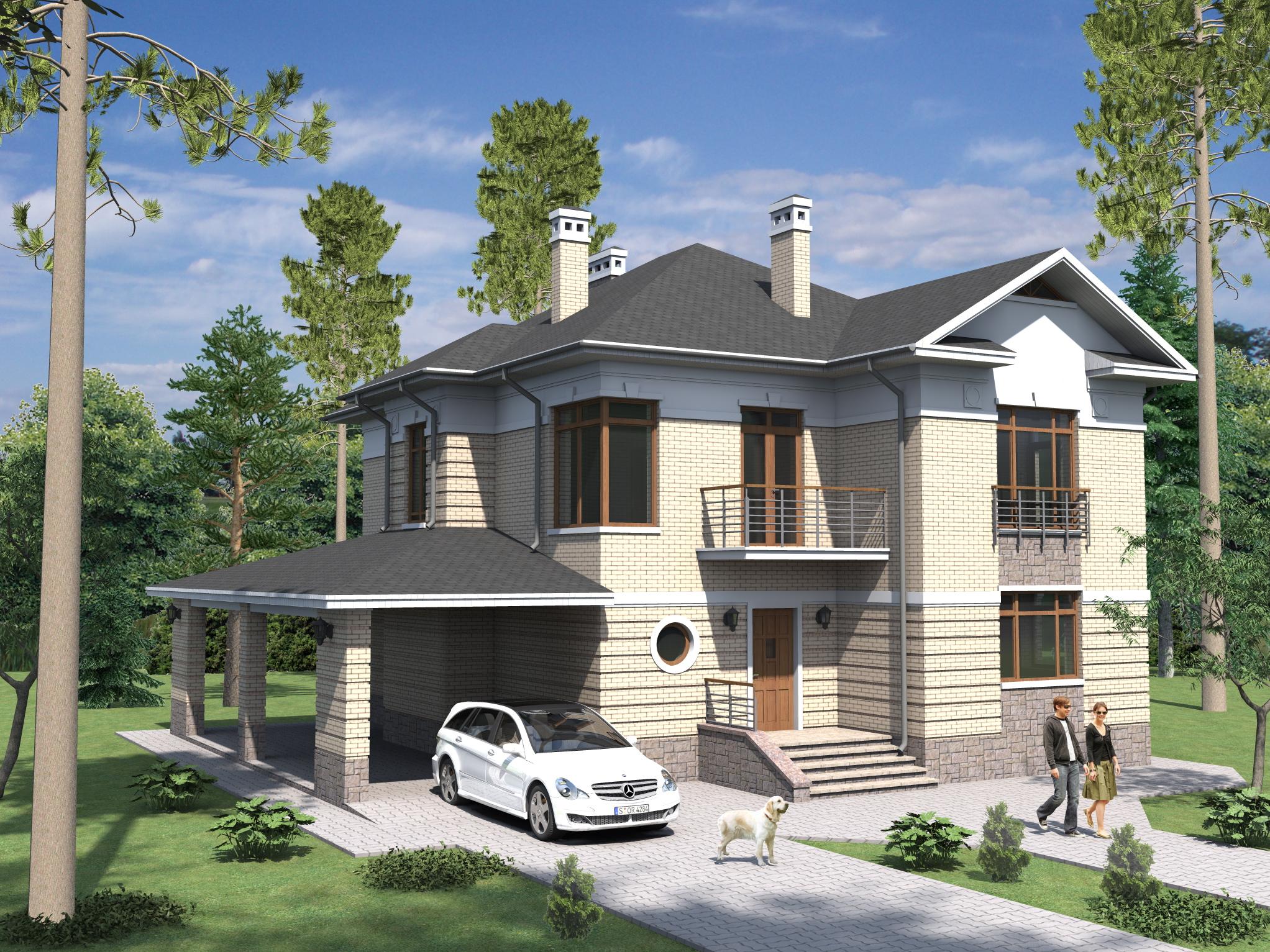 Качественный проект дома