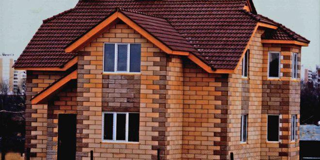 Практичный дом из теплоблоков