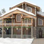 Теплые и экологичные дома из клееного бруса